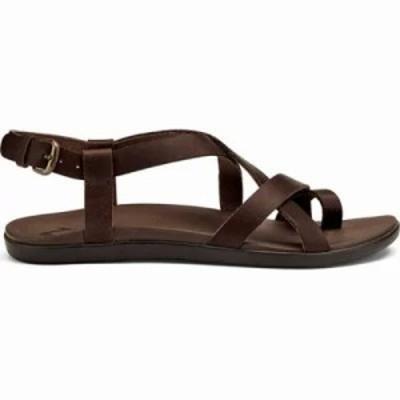 オルカイ サンダル・ミュール Upena Quarter Strap Sandal Kona Coffee Leather