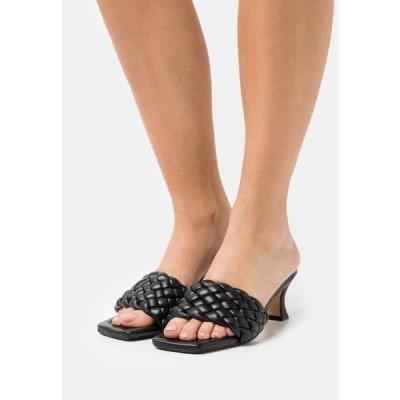 レディース 靴 シューズ Heeled mules - black