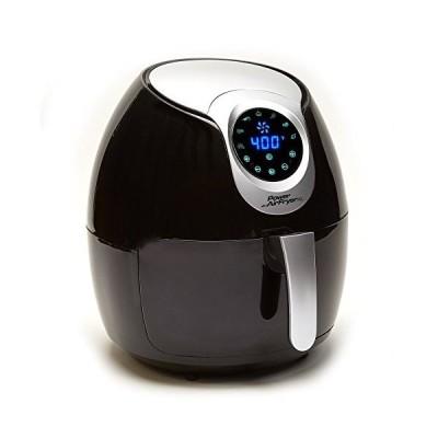 (新品未使用)Power Air Fryer XL (5.3 QT, Black) by Power Air Fryer XL