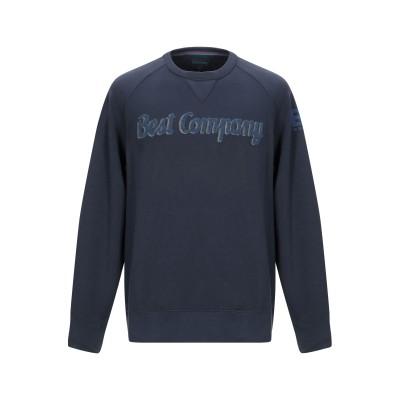 BEST COMPANY スウェットシャツ ブルー XS コットン 100% スウェットシャツ