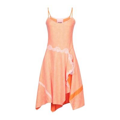 コシェ KOCHÉ ミニワンピース&ドレス オレンジ 36 ポリエステル 100% ミニワンピース&ドレス