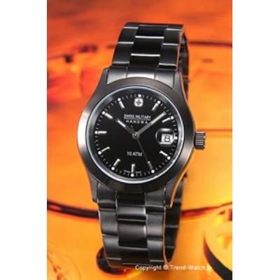 スイスミリタリー 腕時計 メンズ ML-132 (ML132) SWISSMILITARY HANOWA エレガント ブラック オールブラック