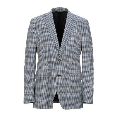 TOMBOLINI テーラードジャケット ブルー 52 バージンウール 97% / ナイロン 2% / ポリウレタン 1% テーラードジャケット