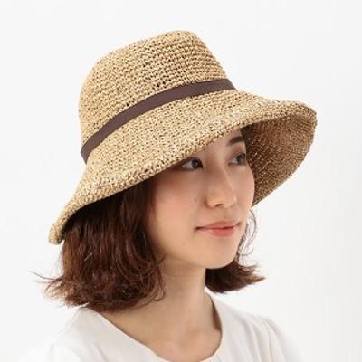 マルイの帽子(MARUI CAPS & HATS)/【選べる3サイズ・日よけ対策・手洗いOK・たためる・サイズ調整可能】手編みリボンセーラー