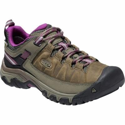 キーン シューズ レディース ハイキング Targhee III Waterproof Hiking Shoe - Women's Weiss/Boysenberry