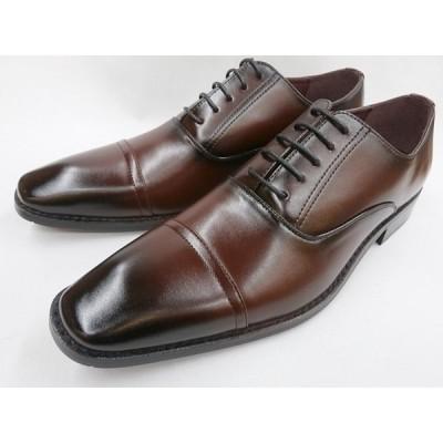 【28.0cm】【29.0cm】【30.0cm】ヒロコ コシノ ビジネスシューズ ストレートチップ HK9801(ワイン) HIROKO KOSHINO メンズ 靴