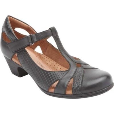 ロックポート サンダル シューズ レディース Brynn Closed Toe Sandal (Women's) Black Burnished Leather