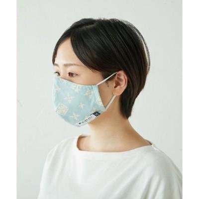 Daily russet / デイリーラシット 【抗ウイルス・制菌・抗かび・防臭】綿プリント布マスク