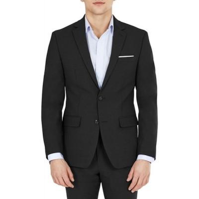 バースリー Bar III メンズ スーツ・ジャケット アウター Solid Skinny Fit Wrinkle-Resistant Wool Suit Separate Jacket Black