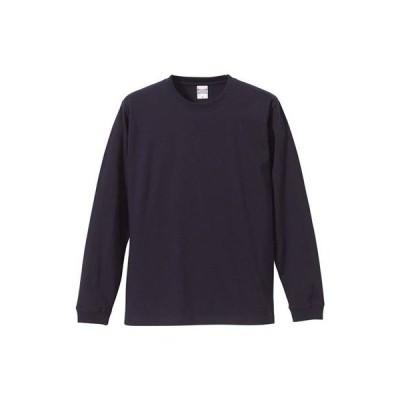 (ユナイテッドアスレ)UnitedAthle 5.6オンス 長袖Tシャツ(1.6インチリブ) 501101 [メンズ] 086 ネイビー M