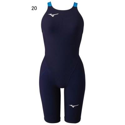 ミズノ 水泳 水球 競泳用水着  レース用 ジュニア MX SONIC α ハーフスーツ FINA認可モデル MIZUNO N2MG0412