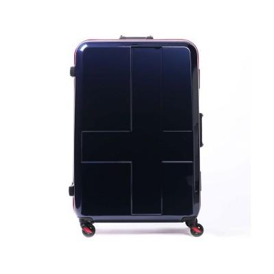 【ギャレリア】 イノベーター スーツケース innovator キャリーケース 旅行 INV68(90L 7~10泊程度 Lサイズ) メンズ インディゴ F GALLERIA