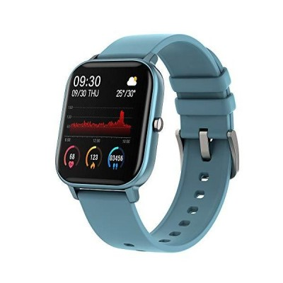 Smart Watch with Heart Rate Sleep Monitor Bluetooth Music Control All-Day Activity Step Counter Smart Bracelet Compatible with Android iOS P