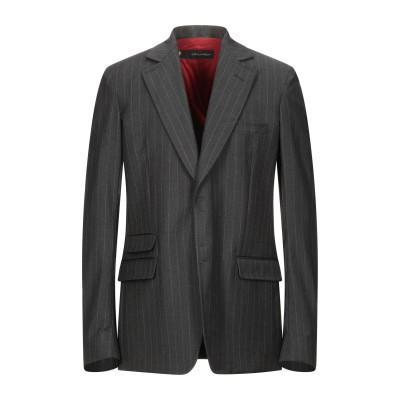 ディースクエアード DSQUARED2 テーラードジャケット スチールグレー 52 ウール 100% テーラードジャケット