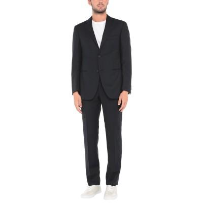 カルーゾ CARUSO スーツ ダークブルー 48 ウール 100% スーツ