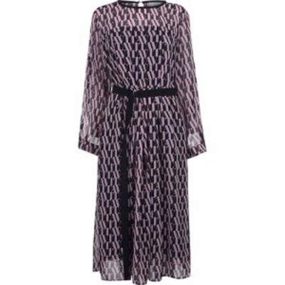マレーラ Marella レディース ワンピース ワンピース・ドレス Riserva short sleeve fit and flare dress Pink
