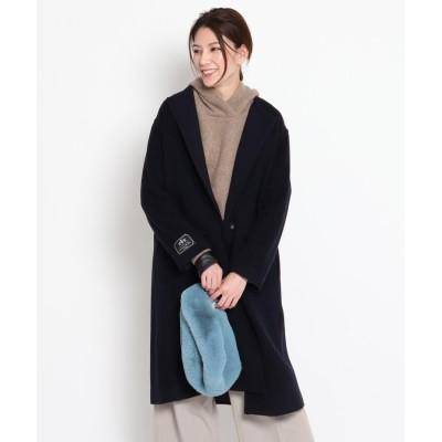 Dessin(Ladies)(デッサン(レディース)) 【CLASSY.12月号掲載】クルーネックコート