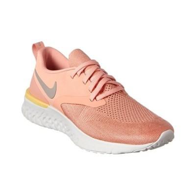 ナイキ スニーカー シューズ レディース Nike Odyssey React Flyknit Sneaker light redwood/white/pink quartz mesh