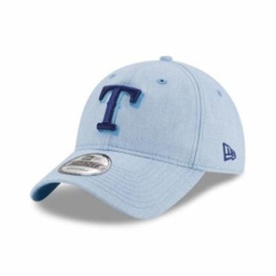 New Era ニュー エラ スポーツ用品  New Era Texas Rangers Light Blue 2018 Fathers Day 9TWENTY Adjustable Hat