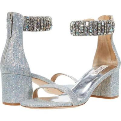 バッジェリー ミシュカ Badgley Mischka レディース サンダル・ミュール シューズ・靴 Gallia Silver