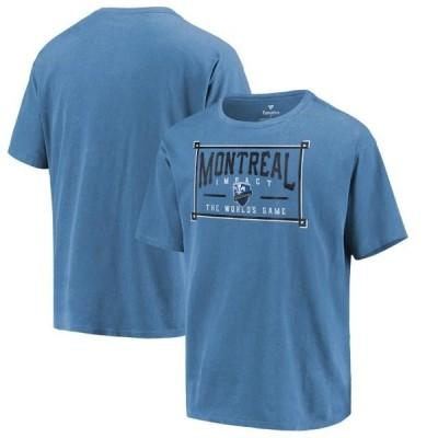 ユニセックス スポーツリーグ サッカー Montreal Impact Fanatics Branded In Partnership with Alta Gracia Historic Sign Washed T-Shirt -