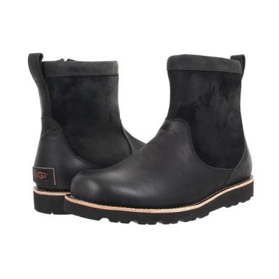 アグ UGG メンズ ブーツ シューズ・靴 Hendren TL Black Leather