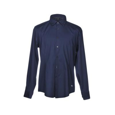 DEKKER シャツ ダークブルー XL コットン 97% / ポリウレタン 3% シャツ