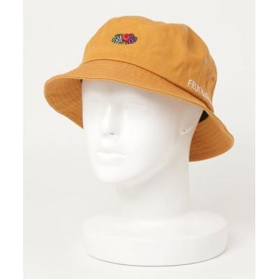 ARCADE / FRUIT OF THE LOOM フルーツオブザルーム ブランドロゴ刺繍 バケットハット MEN 帽子 > ハット