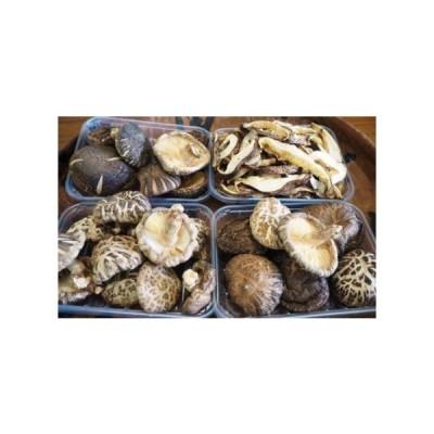 ふるさと納税 こだわりの原木栽培・特選くにさき乾椎茸/4種食べ比べ  大分県国東市