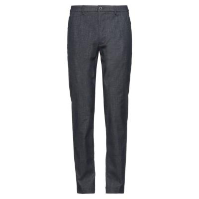 クルーナ CRUNA パンツ ブルー 50 コットン 45% / ポリエステル 35% / レーヨン 17% / ポリウレタン 3% パンツ