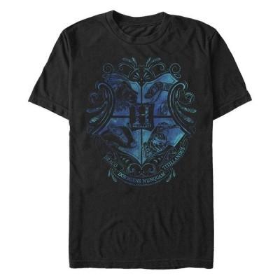 フィフスサン Tシャツ トップス メンズ Men's Hogwarts Short Sleeve Crew T-shirt Black
