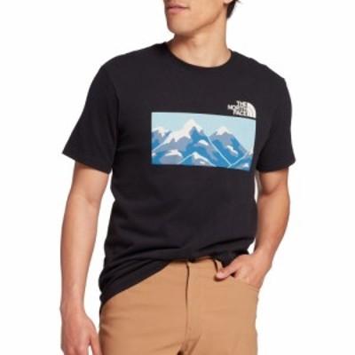ザ ノースフェイス The North Face メンズ Tシャツ トップス Mountain Graphic T-Shirt TNF Black