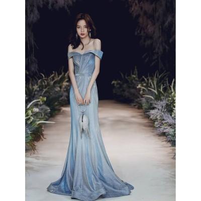 ロングドレス 結婚式 ウェディングドレス マーメイド カラードレス パーティードレス 大きいサイズ 演奏会 お花嫁ドレス 姫系 二次会ドレス イブニングドレス