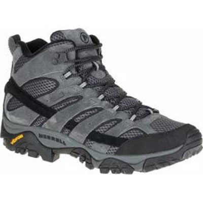 Merrell メンズシューズ Merrell Moab 2 Mid Waterproof Hiking Boot Granite