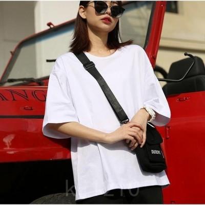 激安レディースtシャツ綿100%tシャツ半袖tシャツ半袖カットソーカラバリベーシックゆったりマタニティTシャツ12色
