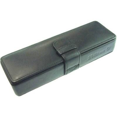 ペリカン レザーペンケース 二本用 ブラック PB-1 pb1