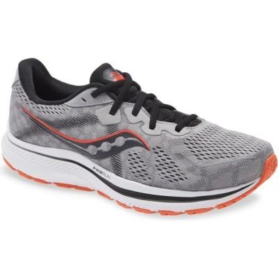 サッカニー SAUCONY メンズ ランニング・ウォーキング シューズ・靴 Omni 20 Running Shoe Grey/Red