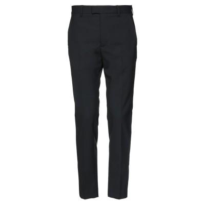 LES HOMMES パンツ ブラック 46 ポリエステル 54% / バージンウール 44% / ポリウレタン 2% パンツ