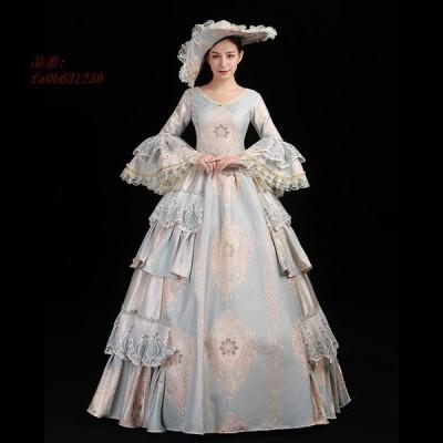 舞台服 ステージ衣装 プリンセスライン 演劇 ドレス 宮廷服ドレス ドレス 刺繍が豪華お姫様ドレス オペラ声楽 舞台衣装やステージ衣装 中世貴族風