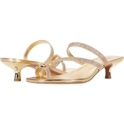 マイケル コース MICHAEL Michael Kors レディース サンダル・ミュール シューズ・靴 Letty Mid Gold