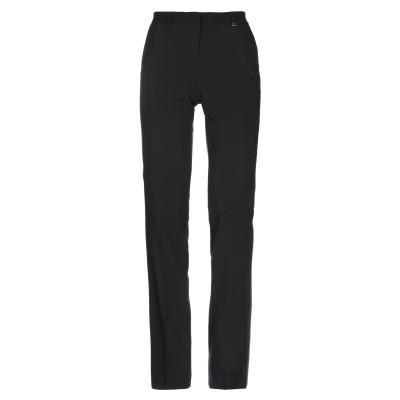 LUCKYLU  Milano パンツ ブラック 40 ポリエステル 89% / ポリウレタン 11% パンツ