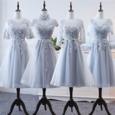グレードレス 大きいサイズ 40代ステージドレス 30代 演奏会用ドレス 結婚式 ミモレ丈ドレス 発表会 20代 パーティードレス