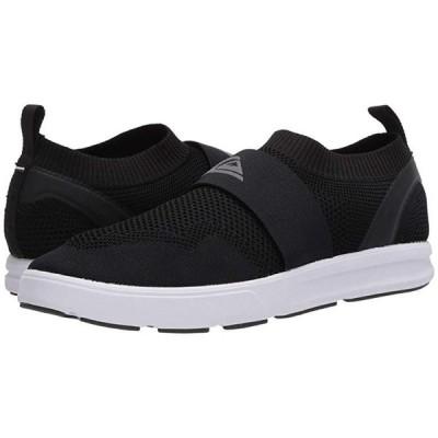 クイックシルバー Amphibian Plus Slip-On II メンズ スニーカー 靴 シューズ Black/Grey/White