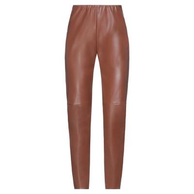 セミクチュール SEMICOUTURE パンツ ブラウン 40 ポリウレタン 100% / ポリエステル パンツ