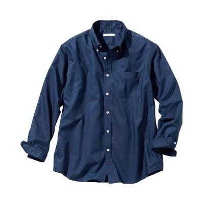 形態安定オックスフォード長袖ボタンダウンシャツ(肩まわり・お腹ゆったり)(消臭テープ付) カジュアルシャツ, Shirts,