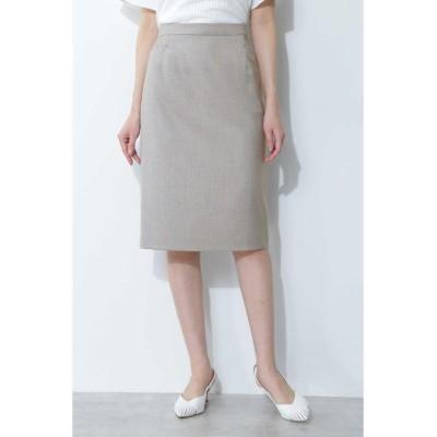 【ボッシュ】 ◆シャークスキンセットアップスカート レディース グレー1 38 BOSCH