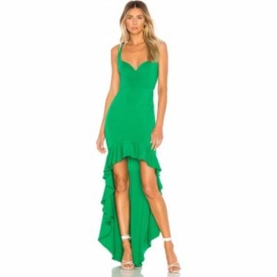 ラヴァーズフレンズ Lovers + Friends レディース パーティードレス ワンピース・ドレス Harlow Gown Green