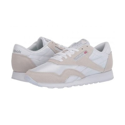 Reebok Lifestyle リーボック メンズ 男性用 シューズ 靴 スニーカー 運動靴 Classic Nylon - White/Light Grey/None
