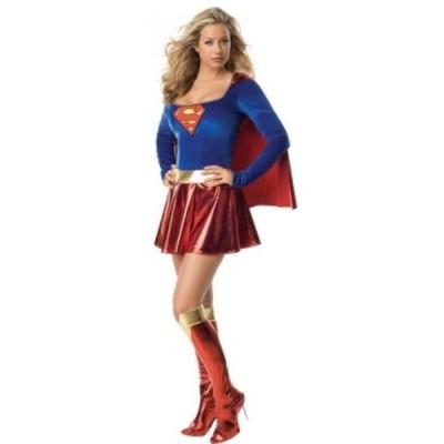 【送料無料】コスチューム Deluxe Supergirl Adult Costume - X-Small 輸入品