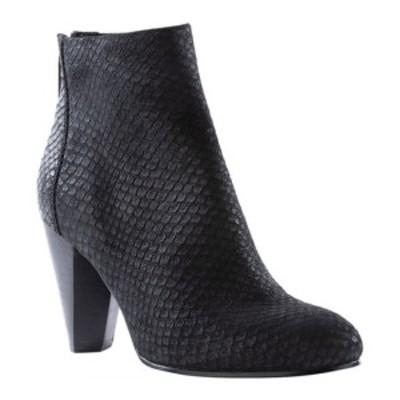 セイシェルズ レディース ブーツ&レインブーツ シューズ Nothing Was The Same Ankle Bootie Black Exotic Leather